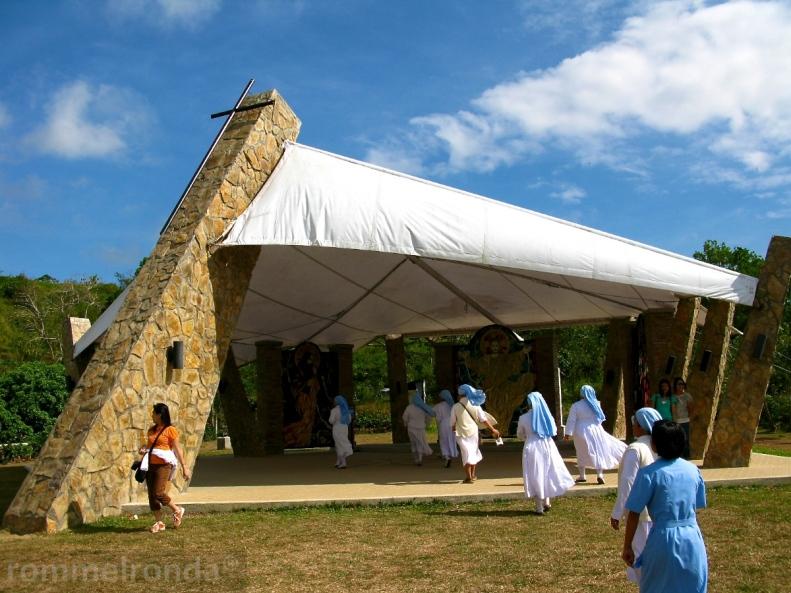 Tent Chapel in Caleruega, Nasugbu, Batangas