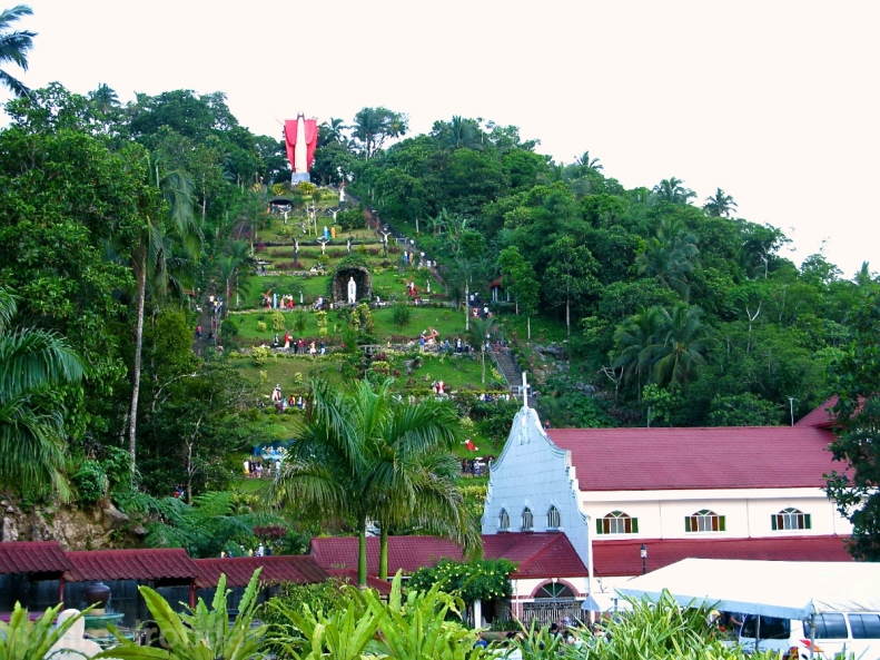 Kamay Ni Hesus Shrine and Healing Church in Lucban, Quezon