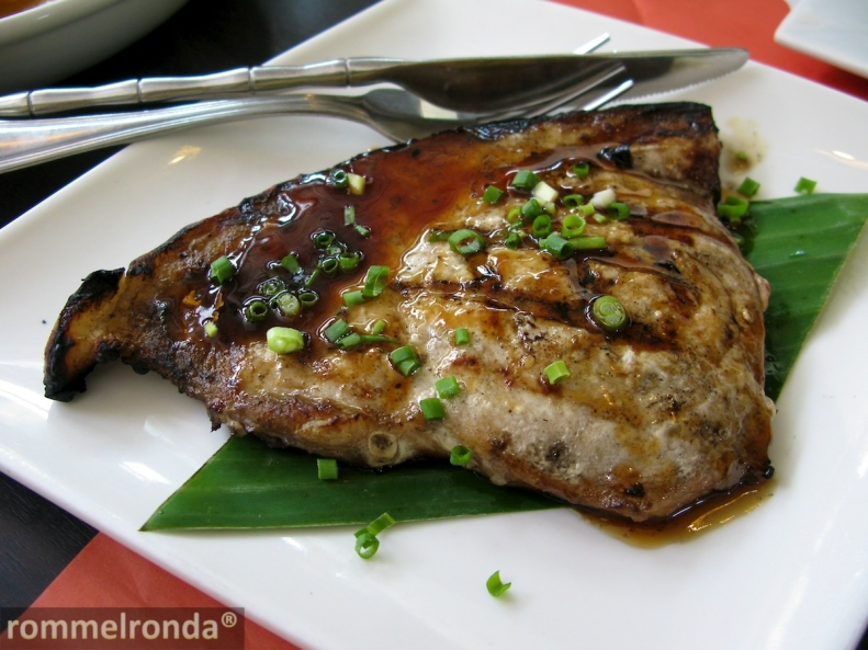 Grilled Blue Marlin