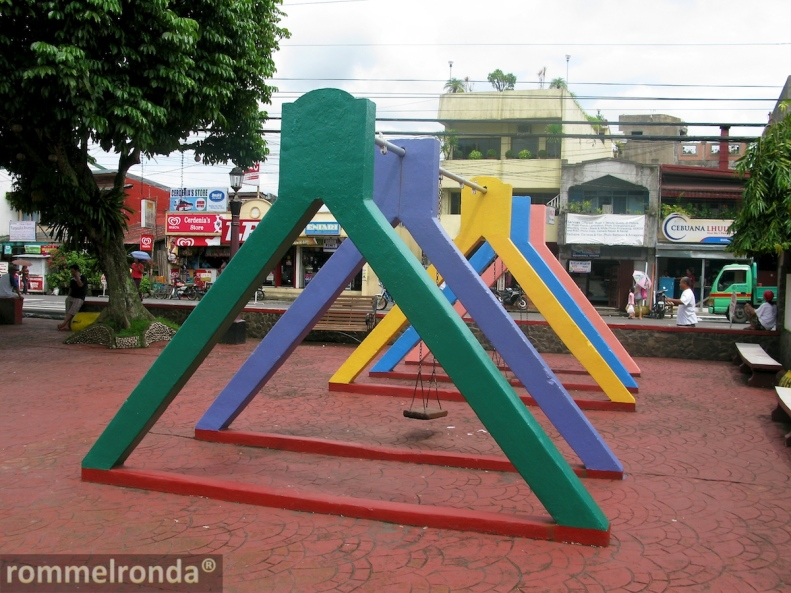Guinobatan Town Plaza Playground