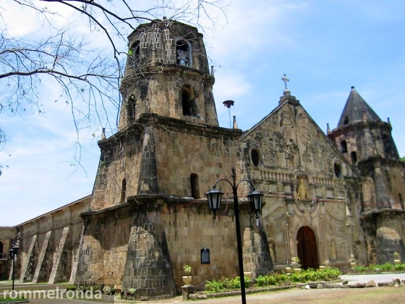 The Church of Santo Tomas de Villanueva in Miag-ao, Iloilo
