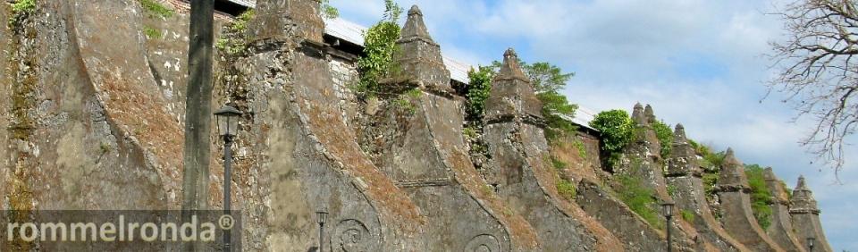 The Church of San Agustín in Paoay, Ilocos Norte