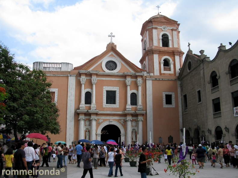 The Church of the Immaculate Conception of San Agustín in Intramuros, Manila